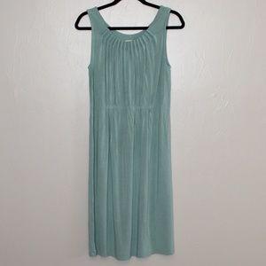 Sundance Seafoam green Sleveless Dress Size L
